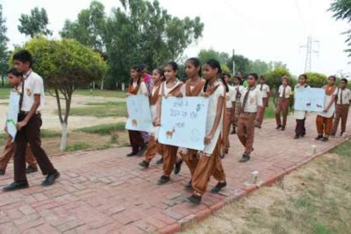 Shri Guru Angad Dev Public School-Rally