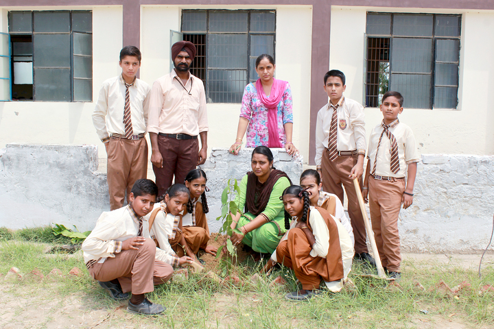 Shri Guru Angad Dev Public School-World Environment Day