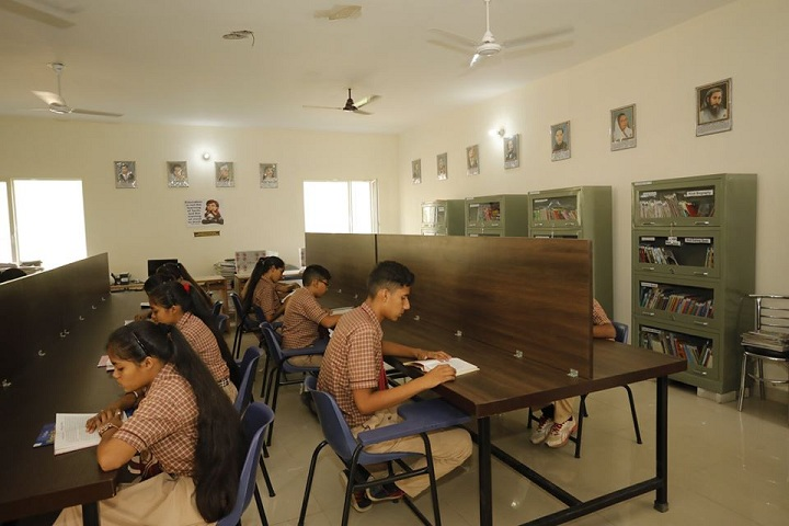 Shri Guru Ravi Dass Public School-Reading Room