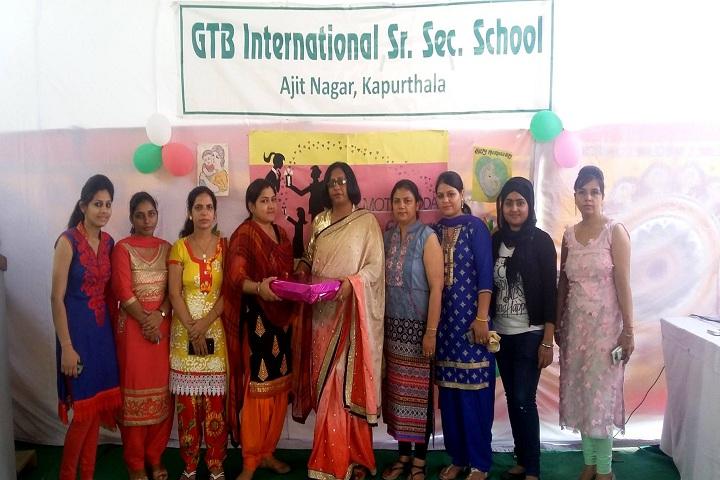 Shri Guru Tegh Bahadur International Senior Secondary School-Presentation