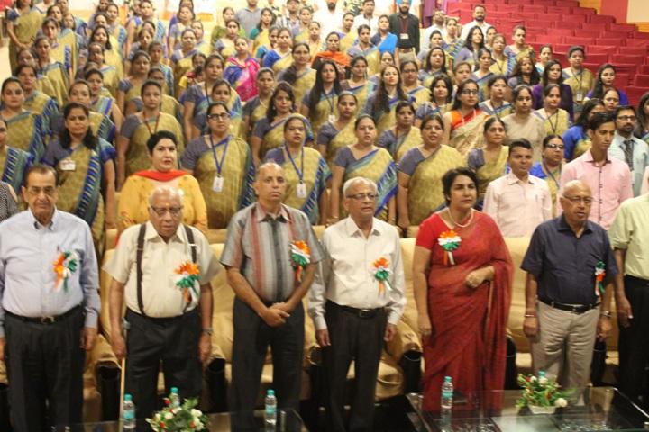 Shri Ram Ashram Public School-Independance day
