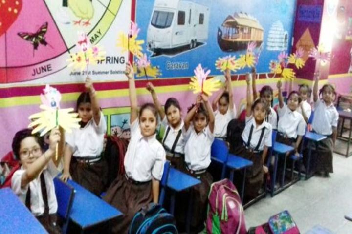 Shri Usha Mata Public School-Classroom