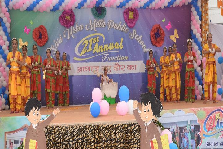 Shri Usha Mata Public School-Dance