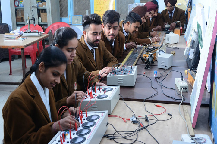 Shri Usha Mata Public School-Physics Lab