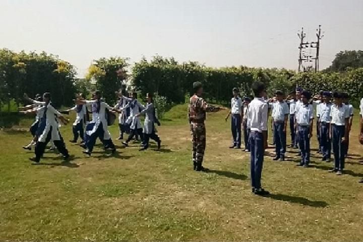 Sidana International School-NCC