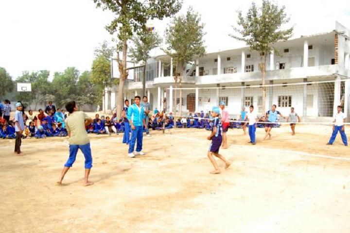Sidhu Memorial Public School- volley ball