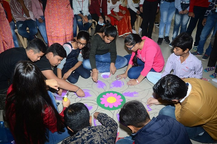 Singhal Stars School-Rangoli Competition