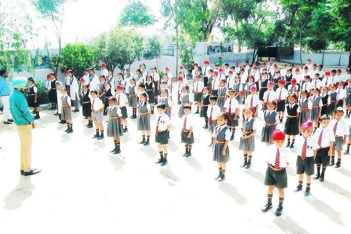 Singhpura International School-assembly