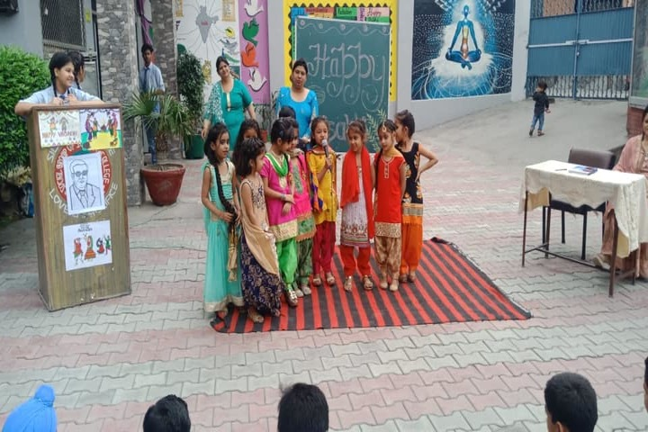 Social Convent International School-Baisakhi Celebrations