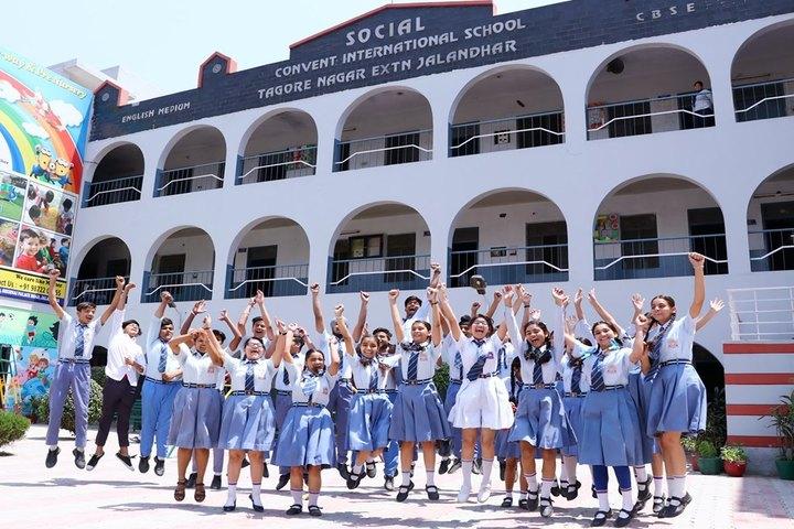 Social Convent International School-Campus View