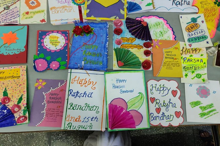 Social Convent International School-Rakhi Making