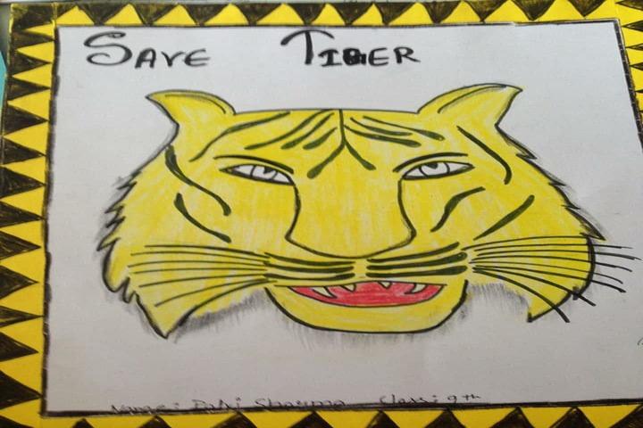 Social Convent International School-Tiger Day