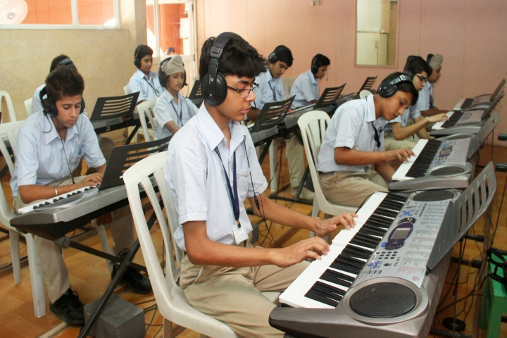 Springdale Senior Secondary School-Music