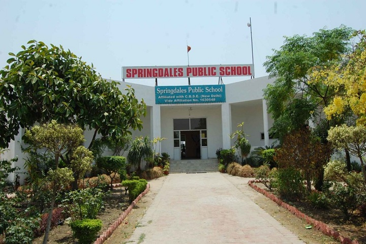 Springdales Public School-campus