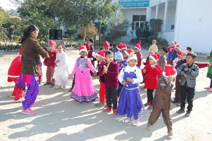 Springdales Public School-christmas celebrations