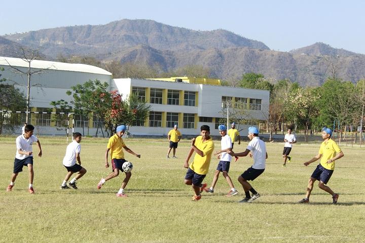 Sri Dasmesh Academy-Football Ground