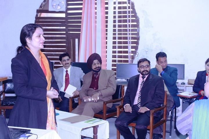 Sri Dasmesh Academy-Staff Meet