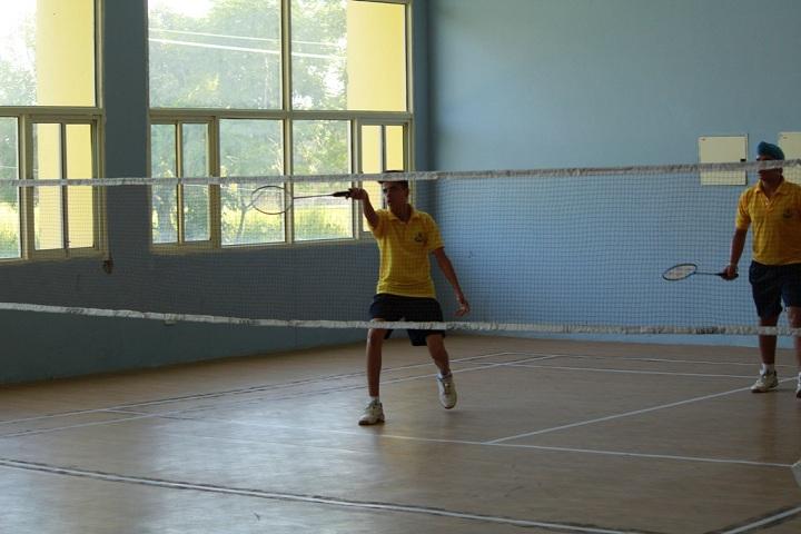 Sri Dasmesh Academy-Tennis Court