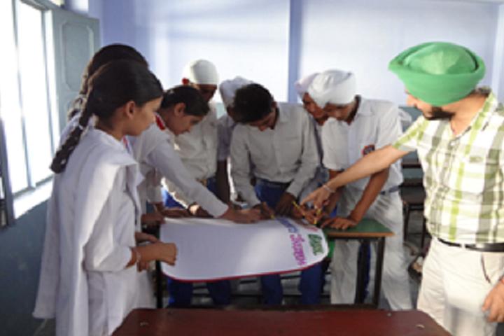 Sri Guru Hakrishan Senior Secondary Public School-Arts