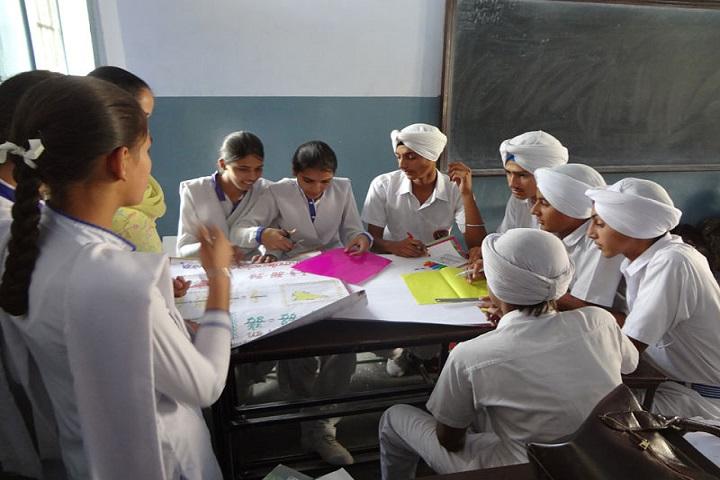 Sri Guru Hakrishan Senior Secondary Public School-Poster Presentations