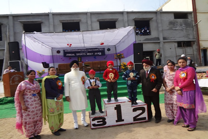 Sri Guru Hakrishan Senior Secondary Public School-Sports Winner