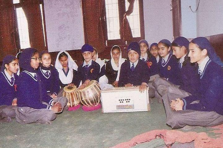 Sri Guru Hargobind Sahib Convent School-Music Activity
