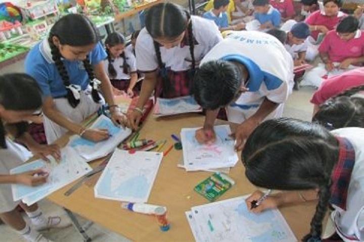 Sri Sukhmani International School-Art-Room
