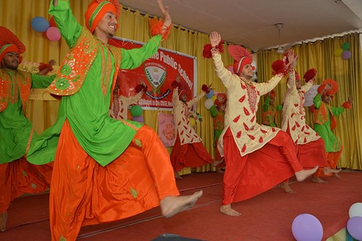 St Soldier Divine Public School-Dance