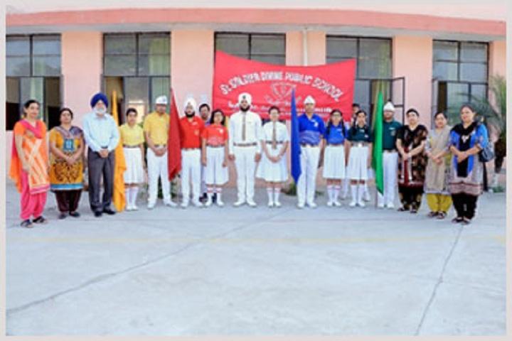 St Soldier Divine Public School-Investiture Ceremony