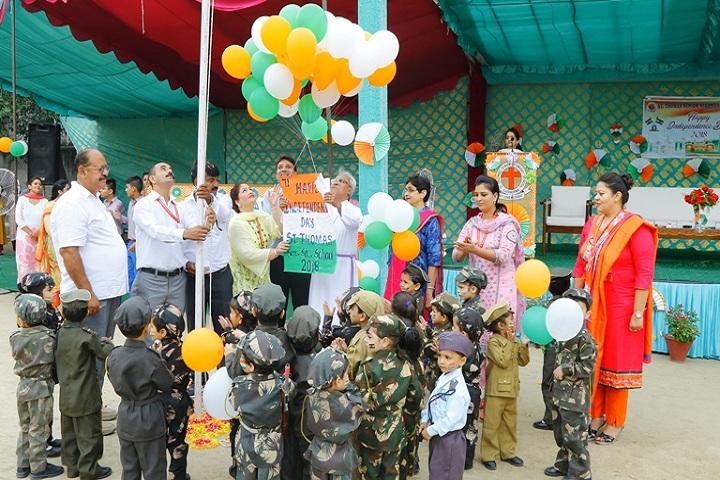 St Thomas Senior Secondary School-Independence Day Celebration