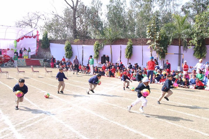 St GDS Convent School-Games