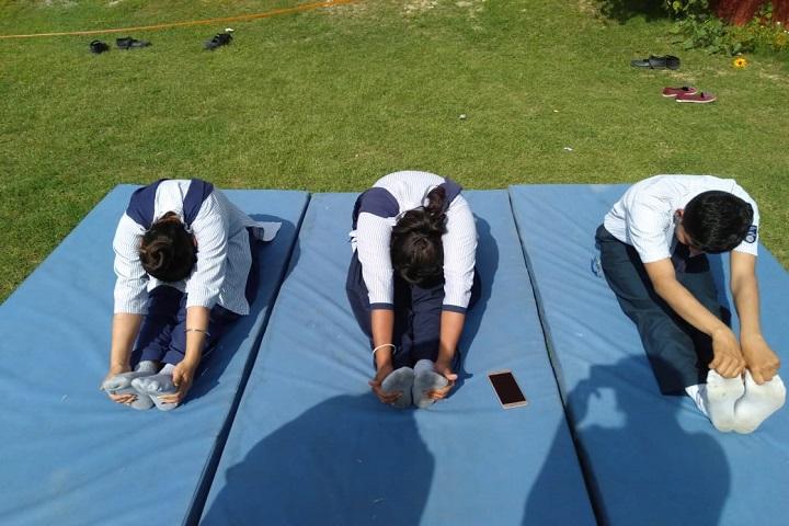 St Sai Senior Secondary School-Yoga