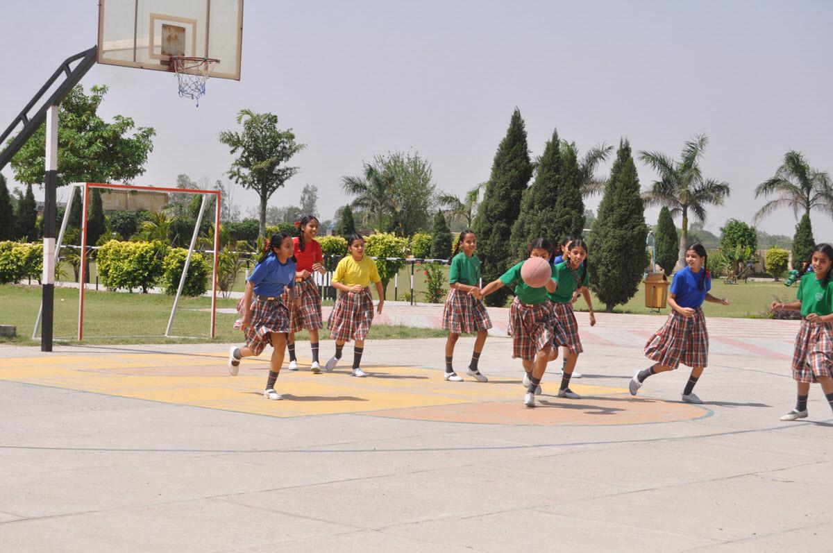 St.Soldier Smart School-Basket Ball Ground