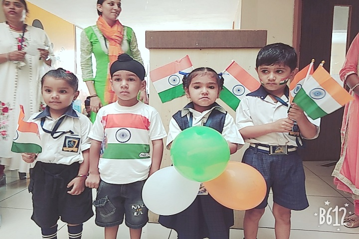 Stellar International School-Independence Day Celebrations