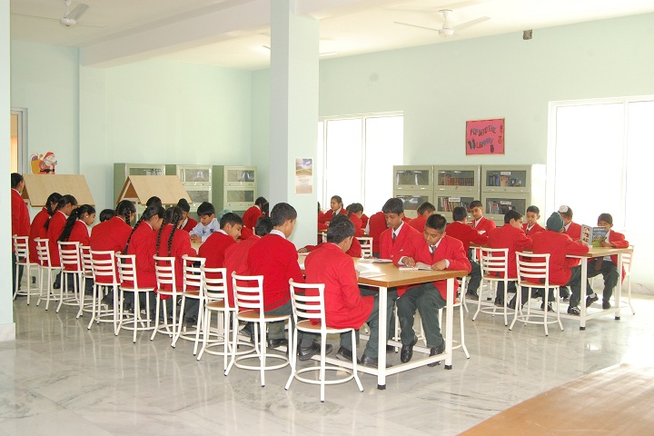 Sts World School-Library