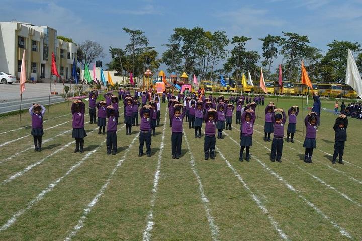 Sukhjinder Memorial Public School-Exercise Activity