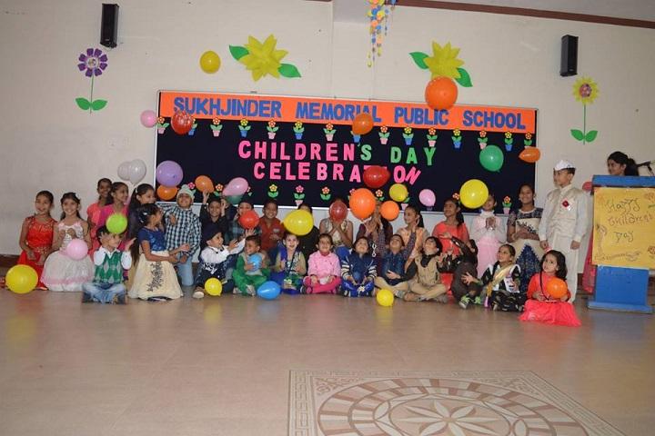 Sukhjinder Memorial Public School-Childrens Day Celebrations