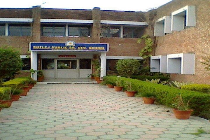 Sutlej Public Senior Secondary School-Building
