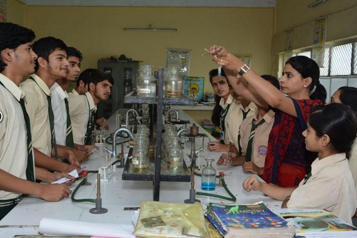 Swami Mohan Dass Model School-Chemistry Lab
