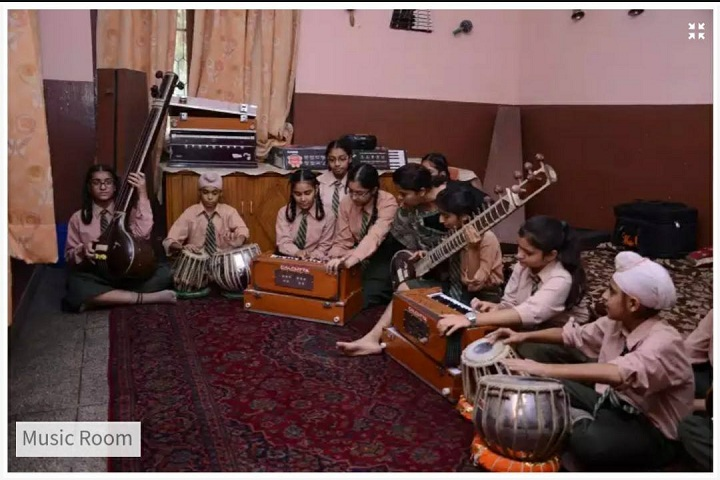 Swami Sant Dass Public School-Music Room