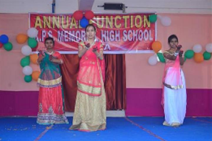 K P S Memorial High School-Group Dance