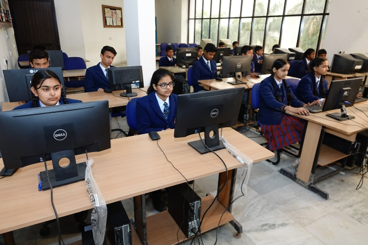 Tagores International Smart School-Computer Lab