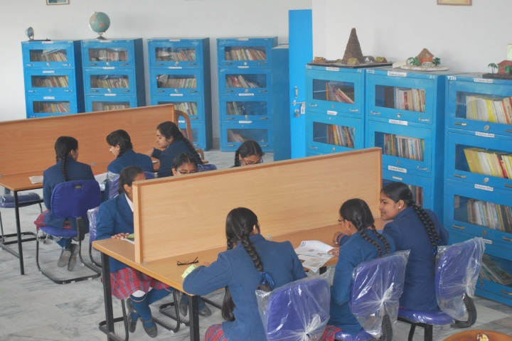 Tagores International Smart School-Library