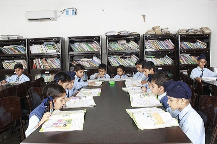 Taj Public School- library