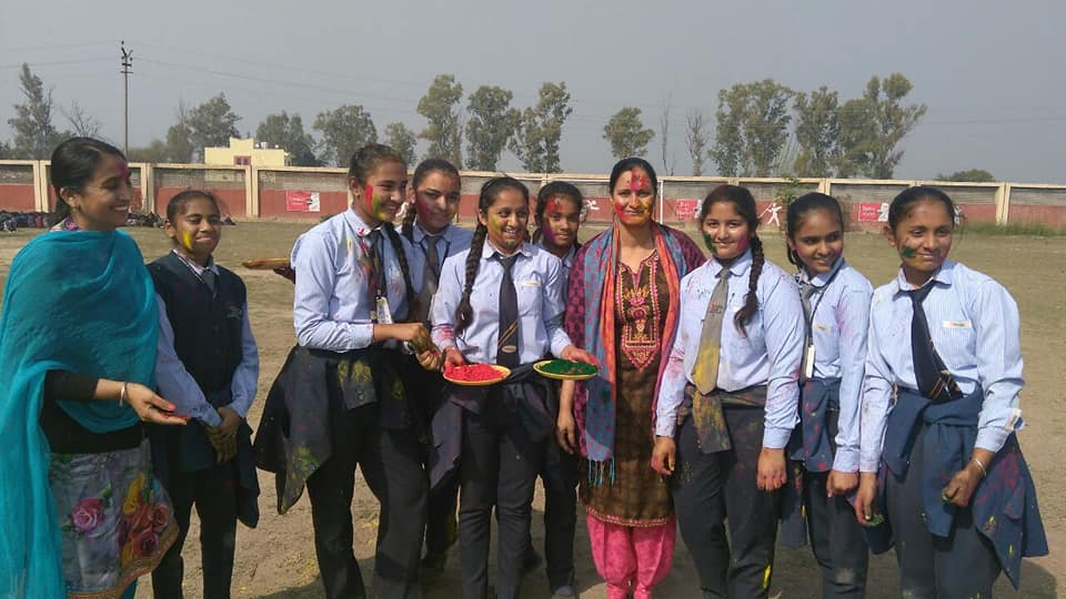 Takshila School-Holi-Celebrations