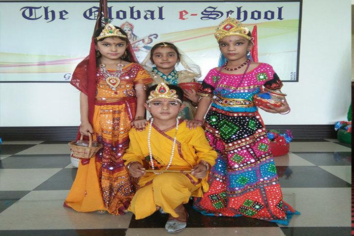 The Global E School-Krishna Jhanmastamio Celebrations