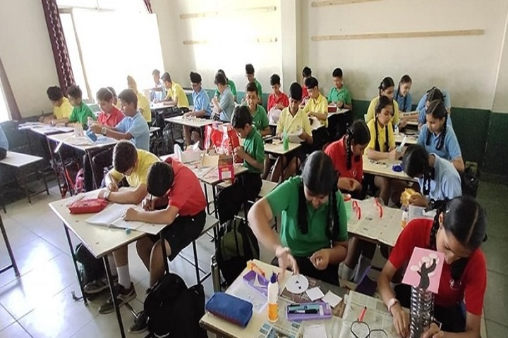 The Indo British School-Drawing Activity