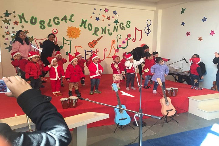 The Knowledge Bus Global School-Christmas celebrations