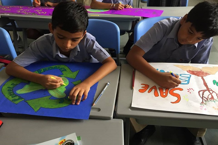 The Knowledge Bus Global School-Painting competitions