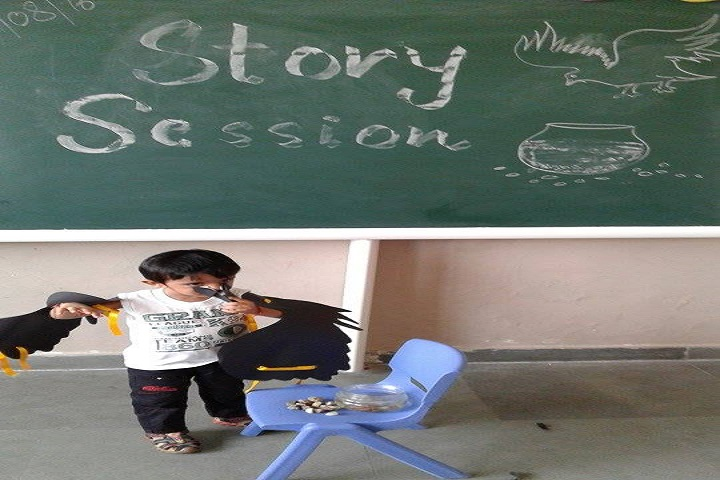 The Knowledge Bus Global School-Story telling competitions